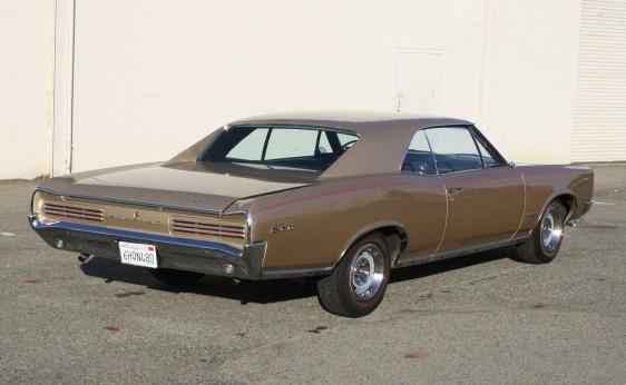 1966 GTO Hardtop - Rear
