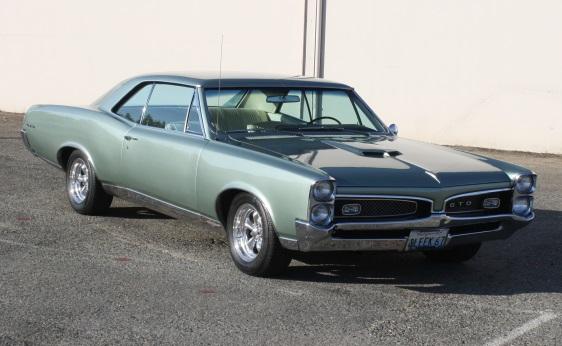 1967 GTO Hardtop