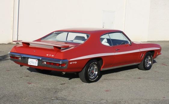 1972 GTO Hardtop - Rear