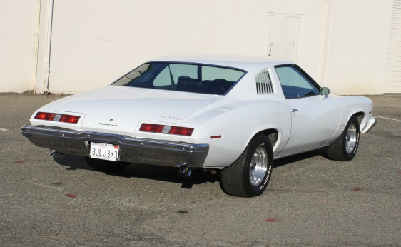 1973 GTO Sport Coupe - Rear Shot