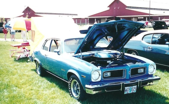 1974 GTO Hatchback with Tent Option
