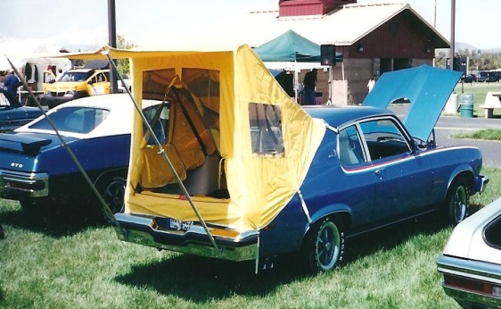 1974 GTO Hatchback with Tent Option - Rear