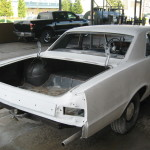 Darrel's 1965 GTO in the Paint Shop