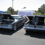 Two 1964 GTOs at a recent Show and Shine