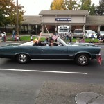 Northern California GTO Club member Don and his 1965 GTO Convertible in the Folsom Veteran's Day Parade on November 11th, 2014.