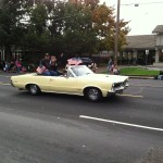 Northern California GTO Club member John and his 1965 GTO Convertible in the Folsom Veteran's Day Parade on November 11th, 2014.
