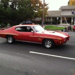 Northern California GTO Club member Don and his 1970 GTO Judge in the Folsom Veteran's Day Parade on November 11th, 2014.
