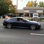 Northern California GTO Club member Robin and his 2005 GTO in the Folsom Veteran's Day Parade on November 11th, 2014.