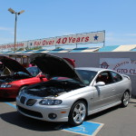 GTOs at the Sacramento Downtown Ford Car Show to benefit Make-A-Wish