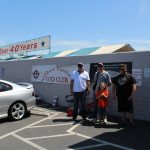 Mike, Dan, and Johnanthony of the Nor Cal GTO Club with  our friend Chris from the Nor Cal Goats Club