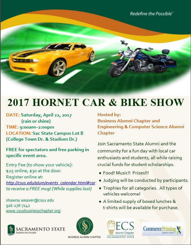 2017_SacState_CarShow_Flyer